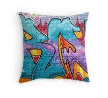 SYDNEY GRAFFITI 14 Throw Pillow