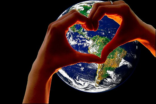 Love our Earth by Wendy Mogul