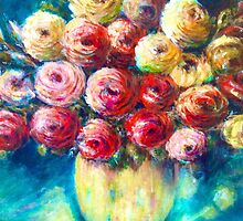 Old fashioned Blooms by LindaGray