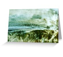 under the surface Greeting Card