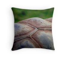 Giant Tortoise Throw Pillow