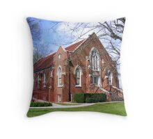 Eusesbia Presbyterian Church Founded 1786 Throw Pillow
