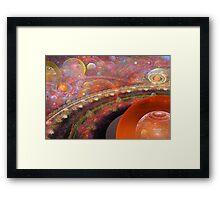 'Into the Misty Multiverse' Framed Print