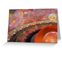 'Into the Misty Multiverse' Greeting Card