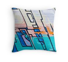SYDNEY GRAFFITI 16 Throw Pillow