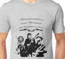 Paint on Silence Unisex T-Shirt