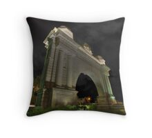 Victory Arch Throw Pillow