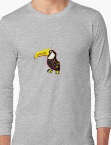 Toucan bird, symbol Long Sleeve T-Shirt