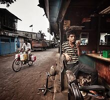The Barber of Andheri by Michiel de Lange