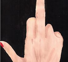 Middle Finger by Luna-lsd