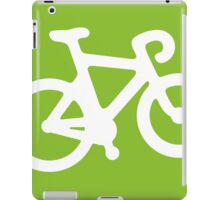 Green Bike iPad Case/Skin