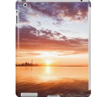 Pink and Gold Morning Zen - Toronto Skyline Impressions iPad Case/Skin