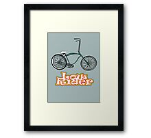 Low Rider Framed Print