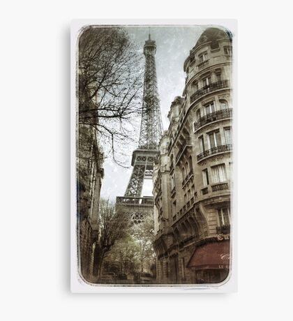 Eiffel Tower, Paris Canvas Print