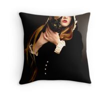 Feline Throw Pillow