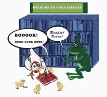Library Joke Tshirt by goanna