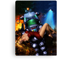 Lust in Space Canvas Print