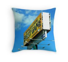 Billboard Throw Pillow