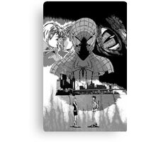 Great Power Great Responsibility Canvas Print