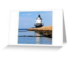 Light Reflection Greeting Card
