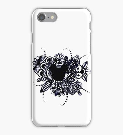 Zentangle Disney Mickey Mouse iPhone Case/Skin