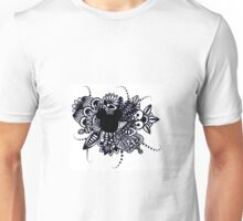 Zentangle Disney Mickey Mouse Unisex T-Shirt