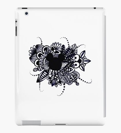 Zentangle Disney Mickey Mouse iPad Case/Skin