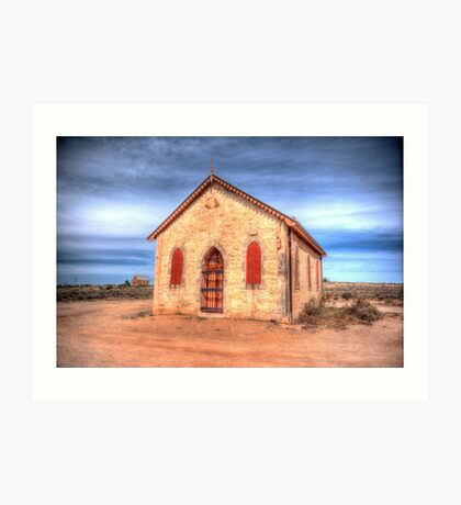 Worship In The Past Art Print
