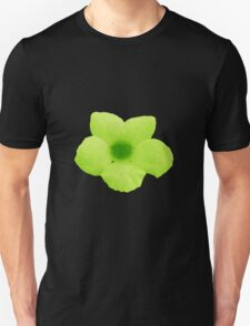 Green Potato Flower T-Shirt