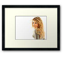 Hilary Duff Framed Print