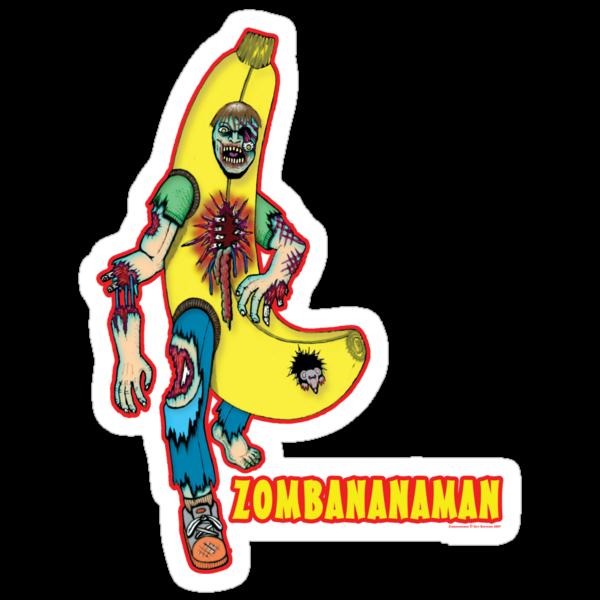Zombananaman by Dr-Twistid