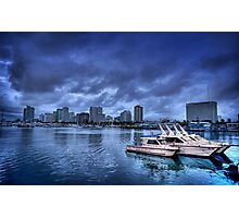 Police Boat Photographic Print