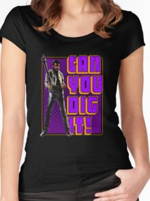 Shaft - Can you dig it! Women's Fitted Scoop T-Shirt