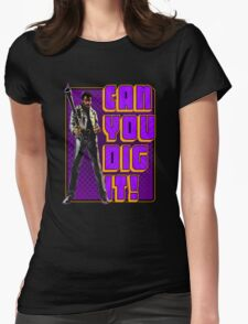 Shaft - Can you dig it! Womens Fitted T-Shirt