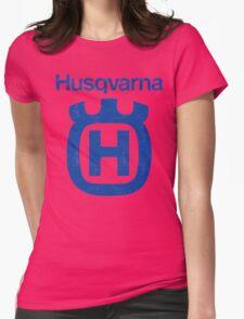 Vintage Husqvarna Womens Fitted T-Shirt