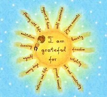 I am grateful for... by Anna Stoyanova