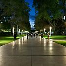 Evening walk by Alexander Meysztowicz-Howen