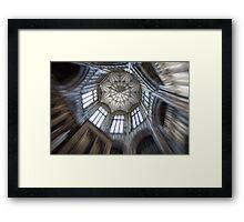 Margam Castle ceiling Framed Print