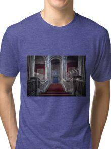 Margam Castle staircase Tri-blend T-Shirt