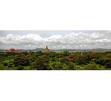 Bagan temples, Burma Photographic Print