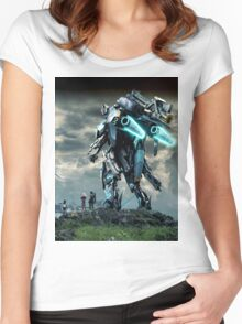 Xenoblade chronicles X Women's Fitted Scoop T-Shirt