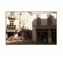 """Café """"La Bastille"""" Art Print"""