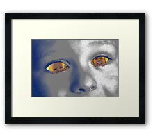 Through the Eyes of a Child. Framed Print