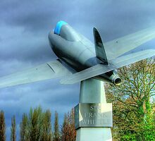 The Sir Frank Whittle Memorial - Farnborough by Colin  Williams Photography