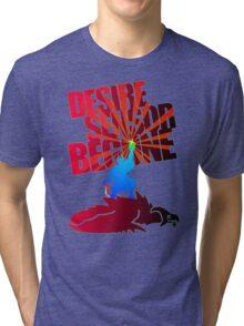 Desire Sensor, Begone! Tri-blend T-Shirt