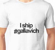 I ship #gallavich Unisex T-Shirt