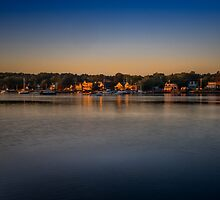 Mahone Bay from Oakland by mlphoto