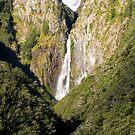 Devil's Punchbowl Falls, NZ by John Brotheridge