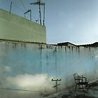 Wall with Sky by Chris Charalambous