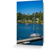 Oakland from Mahone Bay Greeting Card
